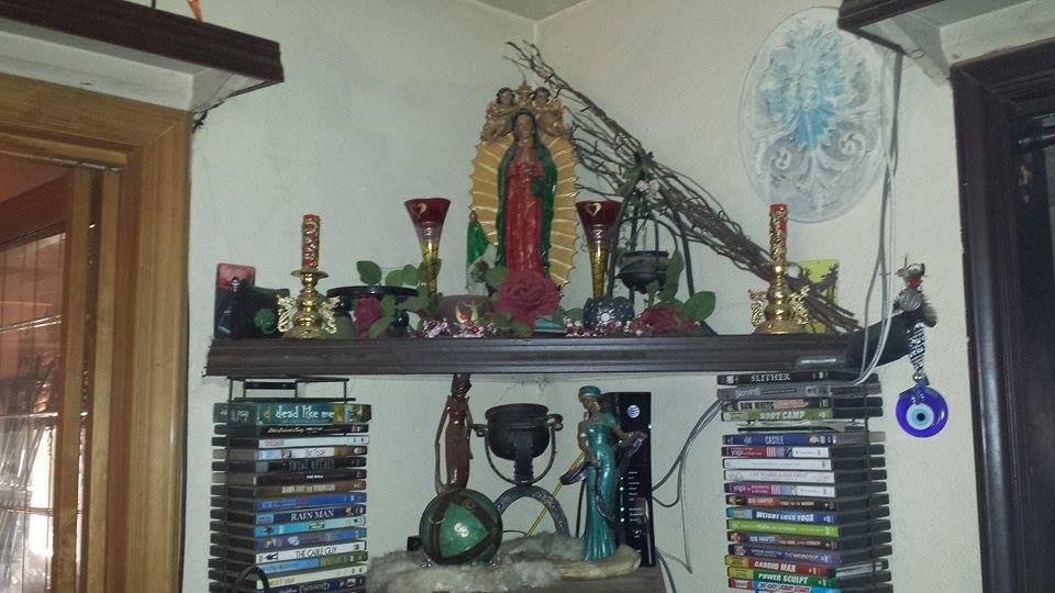 Katrina Rasbold's Altar to Our Lady of Guadalupe