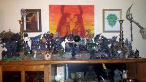 Katrina Rasbold's Dragon Altar